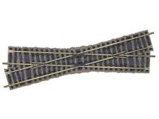 Fleischmann 6162 Kreuzung 18°, linkskreuzend, 200 mm Profi-Gleis H0