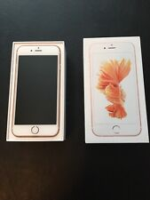 IPhone 6s Metro By T-Mobile New Condition Rose Gold 32GB