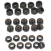 30Pcs 5/8 / 10mm Kingpin Lock Nuts pour Camions Longboard Skateboard
