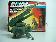 D10 MMS MOBILE MISSILE SYSTEM LOOSE W/ BOX 1983 GI JOE MIB STYLE 100% COMPLETE