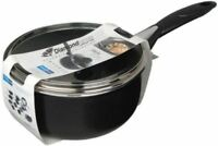 Pendeford Diamond Collection Non Stick Induction Sauce Pan Saucepan Lid 18cm
