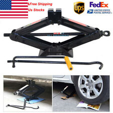 Car Emergency 2T Ton Scissor Wind Up Jack Lift For Car Van Speed Fix Repair Tool
