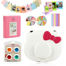 For Fuji Fujifilm Instax Mini HELLO KITTY Camera Case Cover Bag + Album + Accs