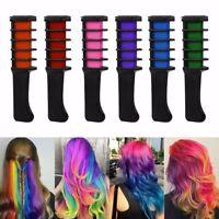 Pro 6 Colors Mini Disposable Hair Color  Dye Comb