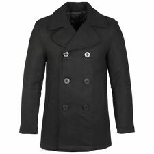 Highlander Pea Coat Black