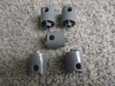 LEGO 30361 Cylinder 2 x 2 x 2 Robot Body x5 dark bluish grey