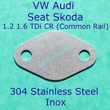 EGR Valve Block Plate For 1.2L 1.6L TDi CR VW Seat Skoda Audi Common rail S/S