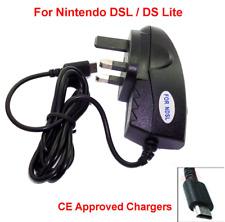 Nintendo DS LITE NDSL Adaptador de cargador de red Reino Unido de 3 pines estándar del Reino Unido aprobado por la CE