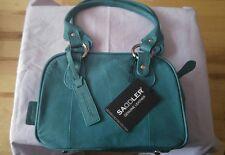 BNWT SADDLER Stylish Teal Leather handbag.