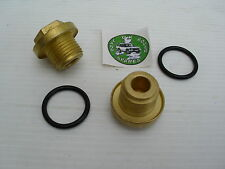 LAND ROVER DISCOVERY 2 DIFFERENTIAL FILLER PLUGS - HEAVY DUTY BRASS PLUGS X 2