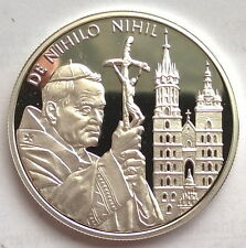 Malta Order of 2004 Paulus II 50 Liras Silver Coin,Proof