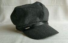 Nine West gray wool  blend women's beret newsboy hat