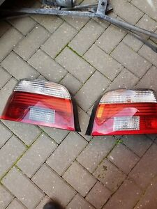 2002 Bmw E39 5 Series Rear Lights Clear Indicators 520 525 530 M5