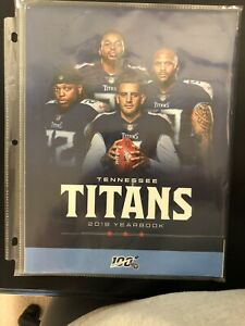 2019 TENNESSEE TITANS YEARBOOK PROGRAM