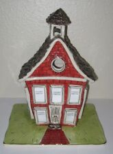 Blue Sky Clayworks Little Red School House Make it Mine Collection Photo Holder