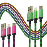 CABLE CHARGEUR RENFORCÉ IPHONE 6 5S 5C SE 6S PLUS DATA SYNCRO USB 8PIN LIGHTNING
