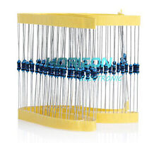 100pcs 1/4w 10K 10Kohm Metal Film Resistor Widerstand 0.25W 100000R 1% 10K
