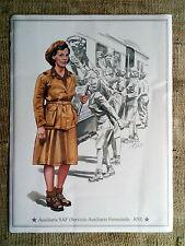 Ausiliaria SAF(Servizio Ausiliario Femminile-RSI) Immagine cm.21 x 28