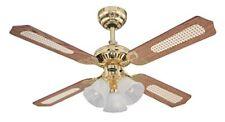 Westinghouse 7819940 Ventilatore a soffitto Princess Trio metallo 60 Watts OT