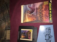 NES Nintendo Exodus Journey to the Promised Land Near Complete Rare HTF