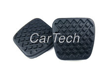 2x Honda Civic Accord Acura Manual TM. Clutch & Brake Pedal Pad Covers Rubbers