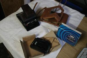 POLAROID SX-70 Land Camera Model 2 mit Tasche und Duo Lux PSX 70 - Aus Nachlass
