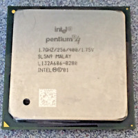 Intel Pentium 4 CPU Processor 1.70GHz 256KB 400MHz 1.75V Socket 478 SL5N9