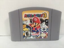 Nintendo 64 Mario Party 3 N64 Video Game Tested Works