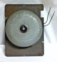 School bell fire alarm device MFG co Syosset L.I N.Y. 6 vlot dc model ad-10 old