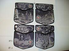 4- Pachsegink Lodge 246,1915- 2015,100th Ann OA, ALL Complete BLK Set,157,334,IL