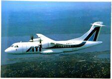 Cartolina Aviazione - Aereo In Volo ATR 42 2Colibrì - Non Viaggiata
