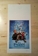 Locandina Film FROZEN (Disney 2013) Poster Movie Originale Cinema 33x70