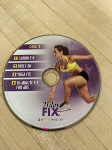 BEACHBODY 21 Day Fix Disc 2 Home Workout Cardio DVD Yoga Abs Beach Body Work Out
