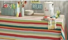 TAG Summer Cottage Striped Table Cloth (530769)