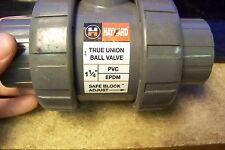 "NOS Hayward 1414-GST PVC True Union Ball Valve 1-1/4"""