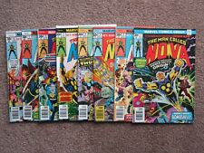 NOS>NM Lot of 8 MAN CALLED NOVA 1 to 8 comic book >CGC READY  key issue 1st solo