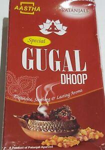 Patanjali UK AASTHA Special GUGAL Dhoop Sticks, Soothing & Lasting Aroma.