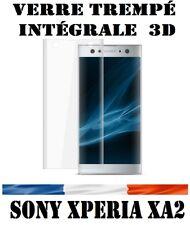 vitre film protection écran en verre trempé INTEGRALE 3D pr Sony Xperia XA2