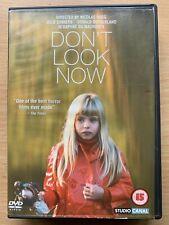 Don't Look Now DVD 1973 Daphne Du Maurier Venice Horror Classic