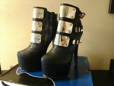Shiekh Shoes Jaylo-12 Black Women's Size 8 Brand New