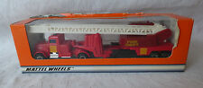 Matchbox Convoy CY- 13 Peterbilt Fire Engine - Feuerwehr - Made in China