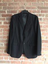 +J Jil Sander Men's 100% Wool Jacket Sz Medium Black