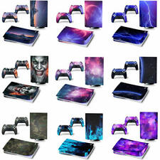 Decal Skin Vinyl Sticker For PS5 Controller Playstation5 Console Covers (Disc)