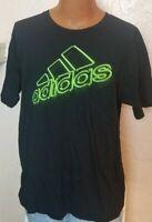 Adidas Mens Graphic Print Go-To Tee TShirt Black Size XL