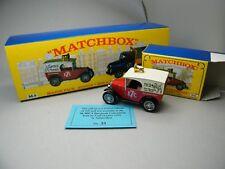 Matchbox MoY C2 Y65 Austin 7th MICA EU 1999 aus M9 Set sehr selten OVP K13