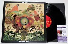 FLEET FOXES BAND SIGNED HELPLESS BLUES 2x LP VINYL RECORD AUTOGRAPHED +JSA COA