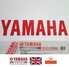 YAMAHA GENUINE STICKER RED 120mm x 27mm