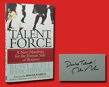 Talent Force SIGNED Rusty Rueff
