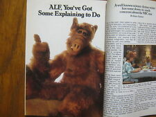 1987 TV Guide (ALF/ANNE  SCHEDEEN/ANDREA  ELSON/MARTIN MULL/HILLARY BAILEY SMITH