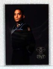 Babylon 5 Tnt Promo Card Postcard - Dr. Franklin*